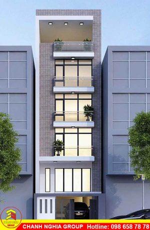 mẫu nhà phố hiện đại đẹp xây dựng nhà phố hiện đại ở bình dương chanh nghia group