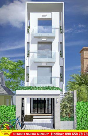 mẫu nhà phố hiện đại xây dựng nhà phố hiện đại tại bình dương chanh nghia group
