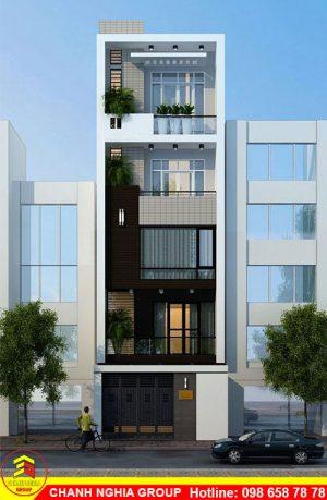 mẫu nhà phố hiện đại xây dựng nhà phố hiện đại ở bình dương chanh nghia group