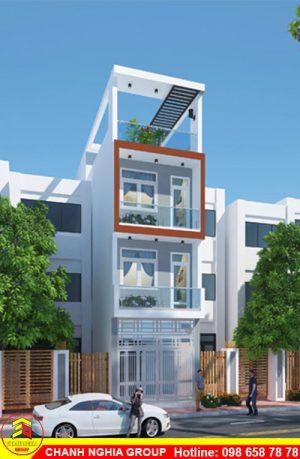 mẫu nhà phố hiện đại xây dựng nhà phố hiện đại tại bình dương chanh nghia