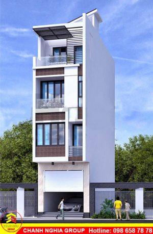mẫu nhà phố hiện đại xây dựng nhà phố tân cỗ điện tại thủ dầu một bình dương chanh nghia