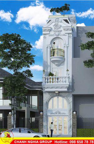 xây dựng nhà phố tân cỗ điện tại bình dương chanh nghia group 1