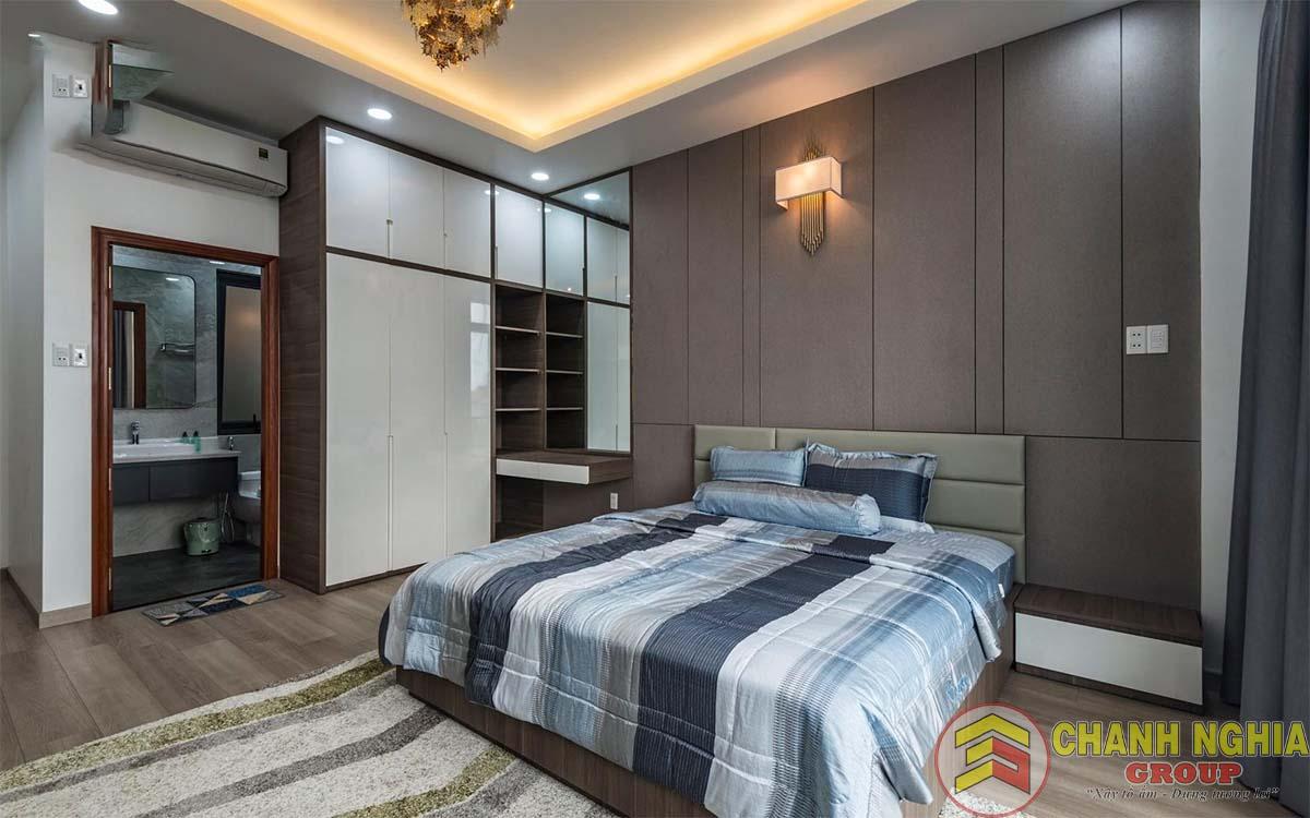 Phòng ngủ biệt thự tân cổ điển 3 tầng