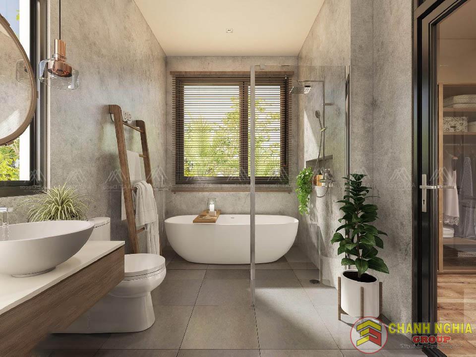 Nhà vệ sinh của biệt thự tân cổ điển