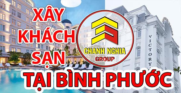thiết kế thi công khách sạn tại Bình Phước