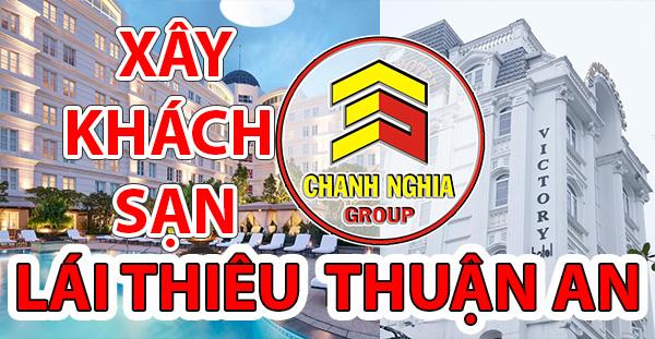 thiết kế thi công khách sạn tại Lái Thiêu Thuận An Bình Dương