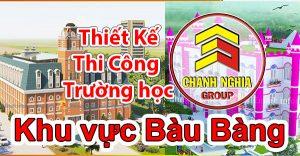thiết kế thi công trường học tại bàu bàng Bến Cát Bình Duong