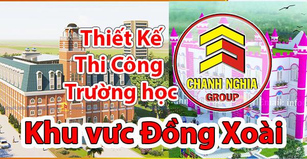 thiết kế thi công trường học tại tại Đồng Xoài Bình Phước