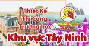 thiết kế thi công trường mầm non tại Tây Ninh