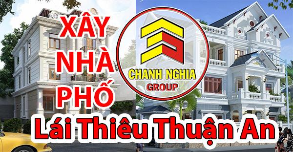 thiết kế xây dựng nhà phố tại Lái Thiêu Thuận An Bình Dương