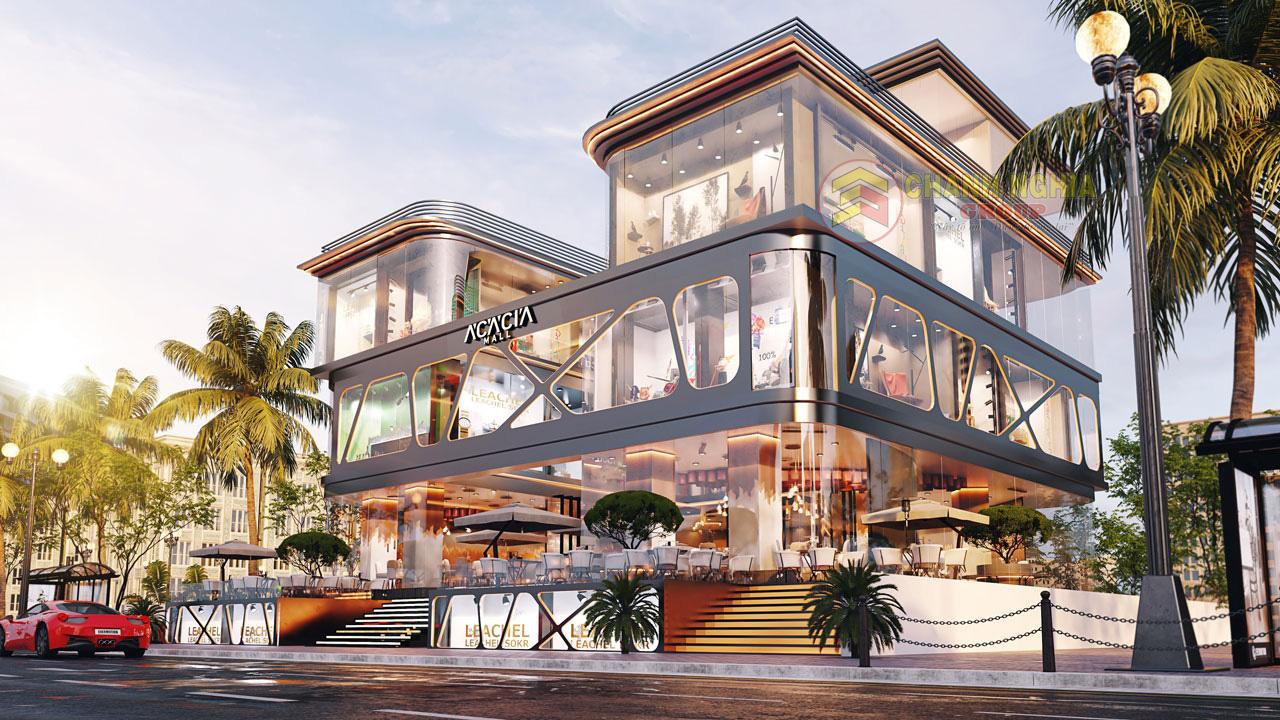 xây dựng trung tâm thương mại tại Bình Dương 1