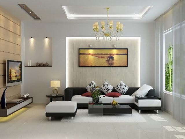Cách phối màu nội thất phòng khách