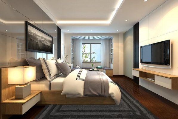 Mẫu phòng ngủ khách sạn - Chanh Nghia Group