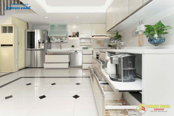 Các mẫu tủ bếp cho nhà nhỏ năm 2021