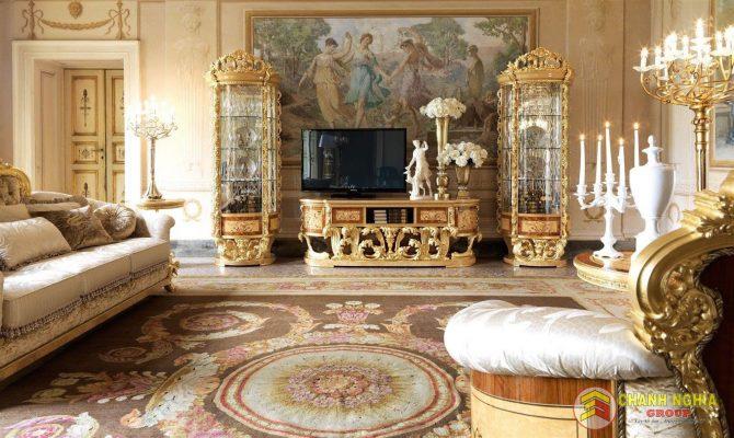 Trang trí nội thất nhà theo phong cách cổ điển năm 2021